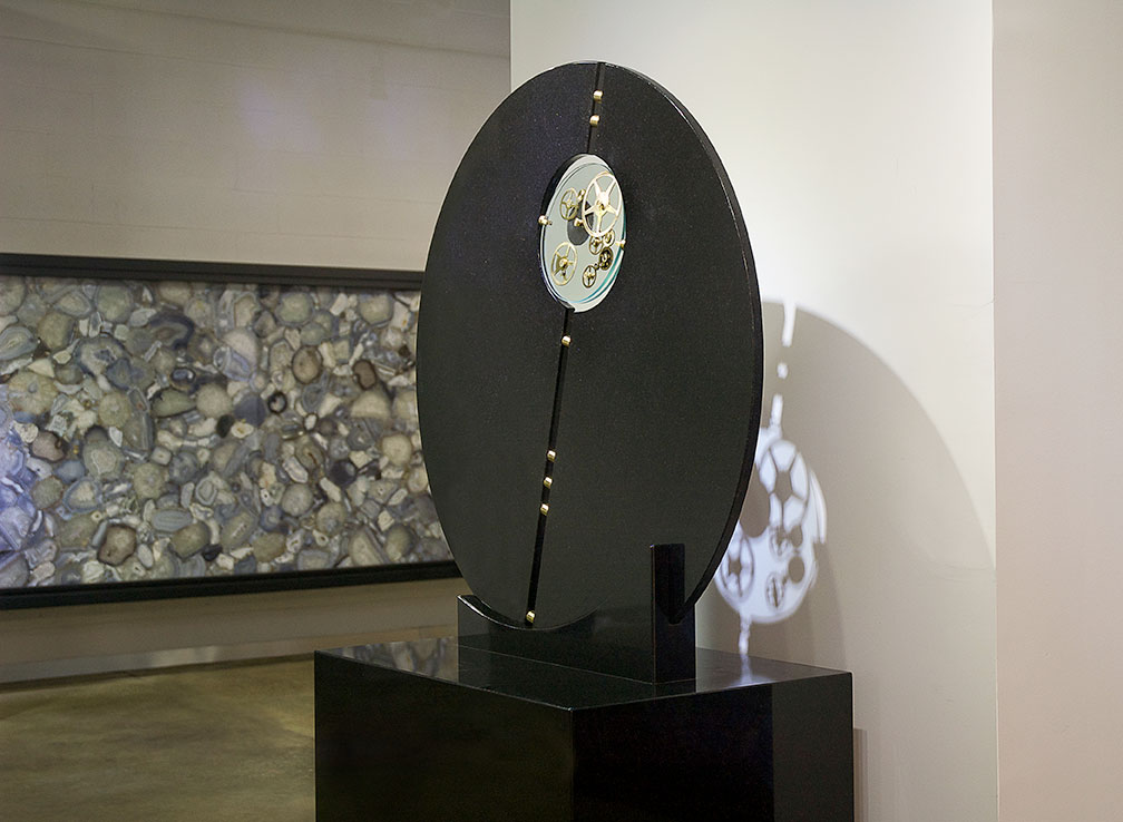 a Kinetic Stone Sculpture