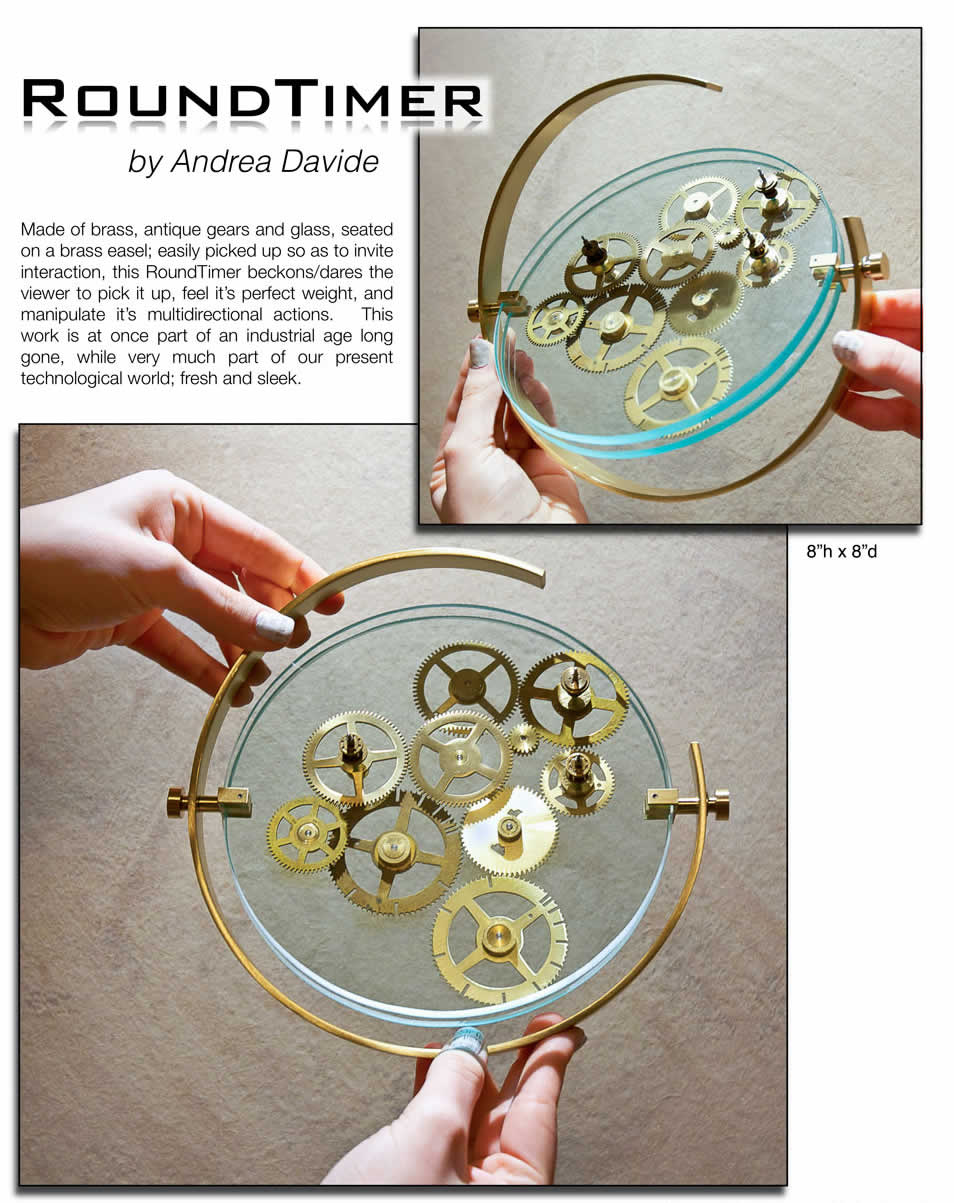 Kinetic Art Sculpture PDF for Round Timer